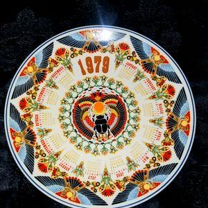 1979 Collectable Calendar Plate